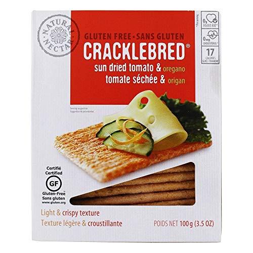 Sundried Tomato and Oregano Cracklebred Gluten Free 3.50 Ounces (Case of 12)