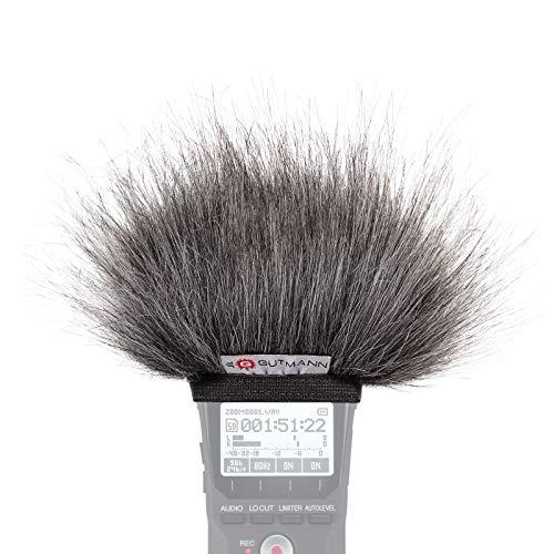 Gutmann Mikrofon Windschutz für Zoom H4n / H4nSP / H4n Pro Grey   Made in Germany
