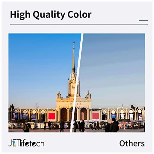 JETlifetech 664 Cartuchos de tinta Reemplazar Epson EcoTank T664 T6641 T6642 T6643 T6644, Epson 664 Botellas de tinta… 4