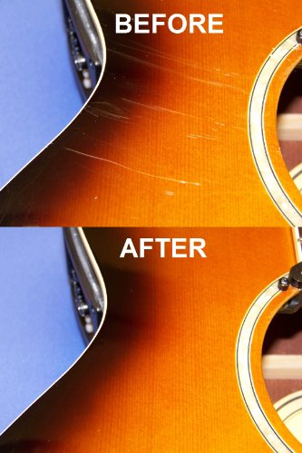 Player's Kit Guitar Polish and Scratch Remover by Eternashine, with Cloth
