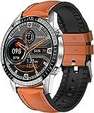 JSL Reloj Inteligente Hombres s Y Mujeres s Deportes Reloj Soporte Fitness Tracker Monitor Smartwatch para Android-C
