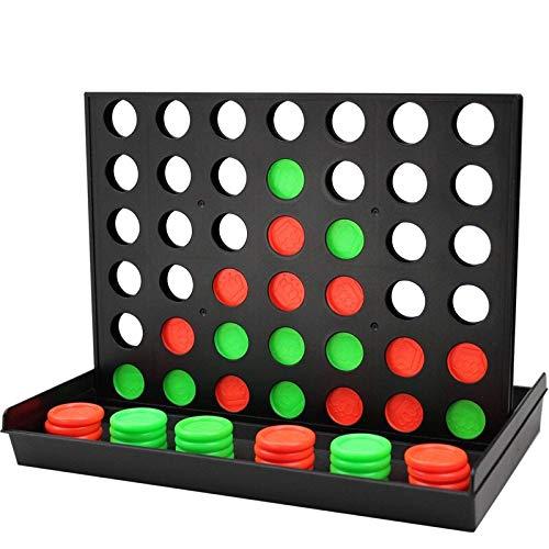 MIAOGOU Internationale schachspiele 4 In Einer Reihe Spielaufstellung 4 Verbinden Sie 4 Klassische Familienspielzeug Brettspiel Für Kinder Und Familie Zum Spaß