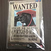 ONE PIECE エース 黒豹 クリアファイル 限定 特典
