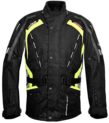 Roleff Racewear Kodra Jacke Gent RO 387, Schwarz/Grau/Neon, Größe S