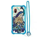 Hülle für WIKO LUBI 3 hülle Silikon Grenze + PC hart backplane Schutzhülle Case Cover XKQ