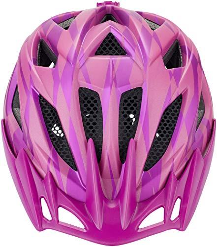 KED Street Jr. Pro Helmet Kinder Violet Kopfumfang S/M | 49-55cm 2020 Fahrradhelm - 2