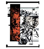 Metal Gear Solid 2 Sons of Liberty Game Fabric Wall Scroll Poster (31'x42') Inches