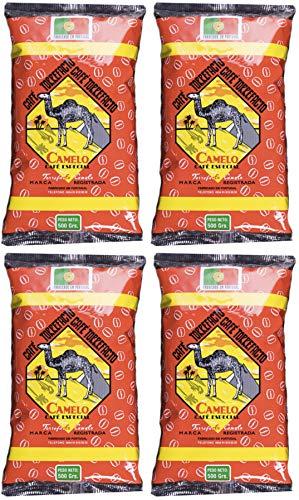 Café Camelo Torrefacto Especial en Grano - 4 paquetes de 500 gr