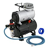 Best Airbrush Kits - ZENY Pro 1/5 HP Airbrush Air Compressor Airbrushing Review