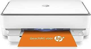 HP ENVY 6020e All-in-One, Draadloze Wifi kleuren inktjet printer voor thuis (Afdrukken, kopiëren, scannen) Inclusief 6 maa...
