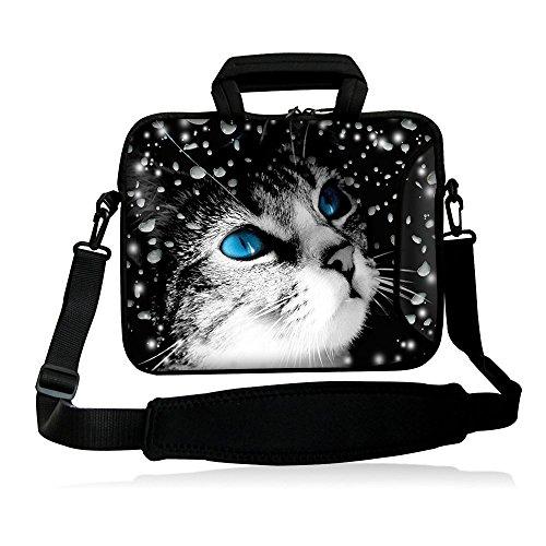 icolor 10' Laptop Sleeve Carrying Case Shoulder Bag 9.7' Tablet 10.2' 10' 8' Notebook Handle Cover Holder with Adjustable Strap