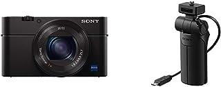 Sony DSC RX100 IV Digitalkamera (21 Megapixel, 3 fach opt Zoom, 11 fach digital Zoom, 7,6 cm (3 Zoll) Display, Pop Up Sucher) schwarz und Handgriff