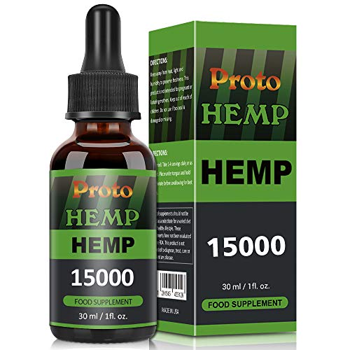 Proto 2020 New Upgrade Lngredients Natural Oil,Natural Ingredients,NO GMO,GMP Standards (30ml-15000mg)