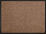 ID, 6080 10 Impatto Tappeto Quadrato-Zerbino in Fibra, in Polipropilene/caucciù, 80 x 60 x 1 cm.