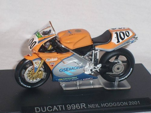 Ducati 996 R Neil Hodgson Diecast 1/24 Superbike