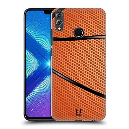 Head Case Designs Baloncesto Colección de Bolas Carcasa rígida Compatible con Huawei Honor 8X / View 10 Lite