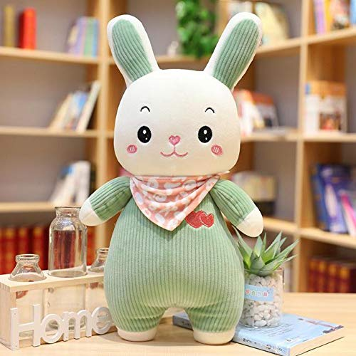 N / A Sweet Rabbit Plush Toy Soft Cartoon Animal Bunny Muñeca de Peluche Niños Niño Bebé Apaciguar Almohada para Dormir Presente 45cm