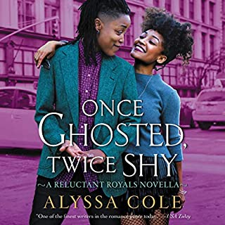 Once Ghosted, Twice Shy     A Reluctant Royals Novella              Written by:                                                                                                                                 Alyssa Cole                               Narrated by:                                                                                                                                 Karen Chilton                      Length: 3 hrs and 20 mins     Not rated yet     Overall 0.0