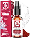 OZNaturals Dragons Blood and Vitamin C Serum for Face - Anti Aging Facial Serum To Reduce Wrinkles, Fine Lines, Dark Spots & Acne - Retinol Serum For Face Lift With Rosehip Oil, Hyaluronic Acid, & Vitamin E - All Natural Antioxidant Face Oils and Serums - 1 Fl Oz