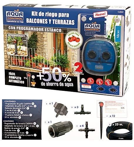 Aqua Control C4019E Rollo de 50m de micro tubo de 4mm para riego por goteo.