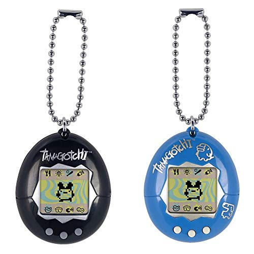 Tamagotchi Electronic Game, Black & Electronic Game, Blue/Silver