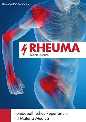 Rheuma: Homöopathisches Repertorium mit Materia Medica