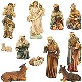 Figure di natività, figure di natività 12 pezzi. Orientale adatto per cifre 24cm (44635092080)