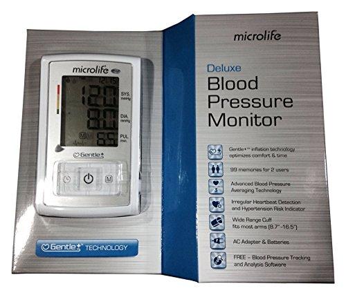 Microlife BP3GX1-5X Deluxe Arm Blood Pressure Monitor