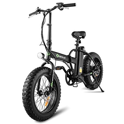 Goplus Folding Electric Bicycle