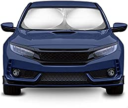 Car Sun Shade for Windshield - Sunshade Window Visor Reflector Shades Shield Visors Front Sunshield Auto Accessories - Best for Cars Truck Van SUV Vehicle Protector Foldable Screen Blocker Sunshades