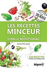 Les Recettes minceur de Sybille Montignac de Sybille Montignac