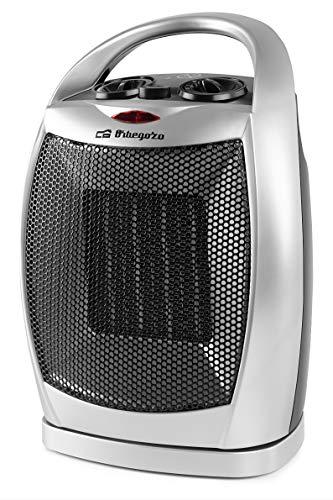 pequeño y compacto Orbegozo CR 5021 – Calefacción cerámica, 2 niveles de potencia, función ventilador frío,…