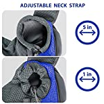 Pet Dog Cat Sling Carrier Bag Puppy Shoulder Carry Bag Hands Free Dog Papoose Carrier with Adjustable Shoulder Strap Pet Travel Carrier Tote Bag with Breathable Mesh Pouch for Outdoor Walking Subway 10