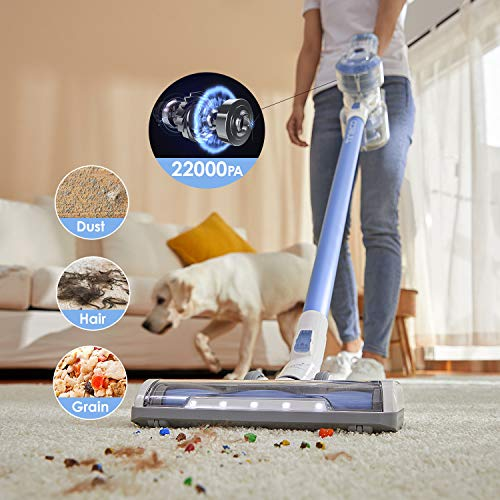 Tineco A11 Hero Cordless Vacuum Cleaner, Handheld Stick Vacuum Lightweight 22Kpa Power Suction 2-in-1 Rechargeable Wireless Vacuums for Multi-Surface Pet Hair Cleaning