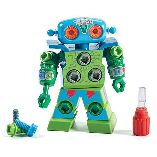 Educational Insights Design & Drill Robot: Kid-Powered Introduction to STEM...