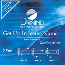 Get Up In Jesus' Name Accompaniment/Performance Track
