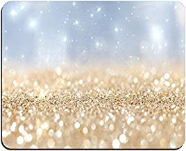 Rainbow Glitter Background Non-Slip Rubber Mousepad Gaming Mouse Pad Mat 02