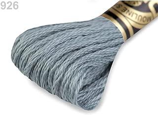 1pc Flint Gray Embroidery Yarn Dmc Mouliné Spécial Cotton, Mouline, Knitting, Crochet, Haberdashery