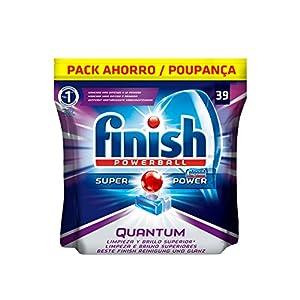 Finish Quantum Regular Pastillas para Lavavajillas – 39 pastillas