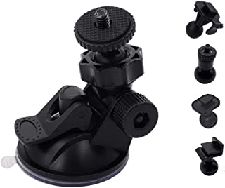 iSportgo S30 Dash Cam Suction Mount with 10pcs Joints for REXING,Z-Edge,Old Shark,YI,KDLINKS,Falcon Zero,Transcend,Crossto...