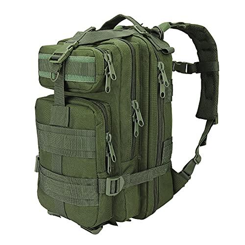 TiannaKitten Zaino militare tattico medio 28L, zaino da trekking, multifunzionale, impermeabile, attacco MOLLE, ideale per escursionismo, trekking, campeggio, caccia, outdoor e vita quotidiana