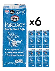 GLUTEN FREE, DAIRY FREE, VEGAN oat milk drink PREFERRED BY BARISTAS as it creates a perfect microfoam for coffee NO ADDED SUGAR - as well as no preservatives or sweeteners THE ETHICAL CHOICE: UK farmer, producer and manufacturer using renewable energ...