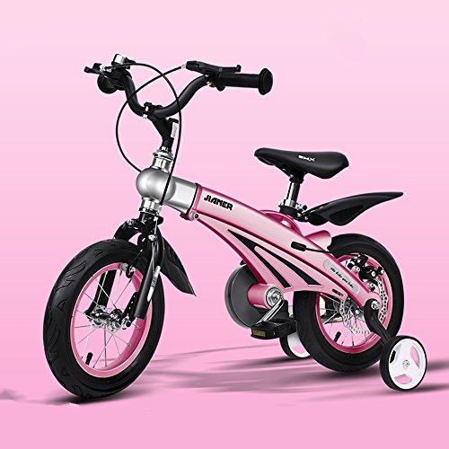 HAIZHEN Kinderfiets jongen meisje fiets 12/14/16 inch Baby koets Mountainbike Kids fiets Uitbreiding lengte Magnesium legering voor pasgeboren