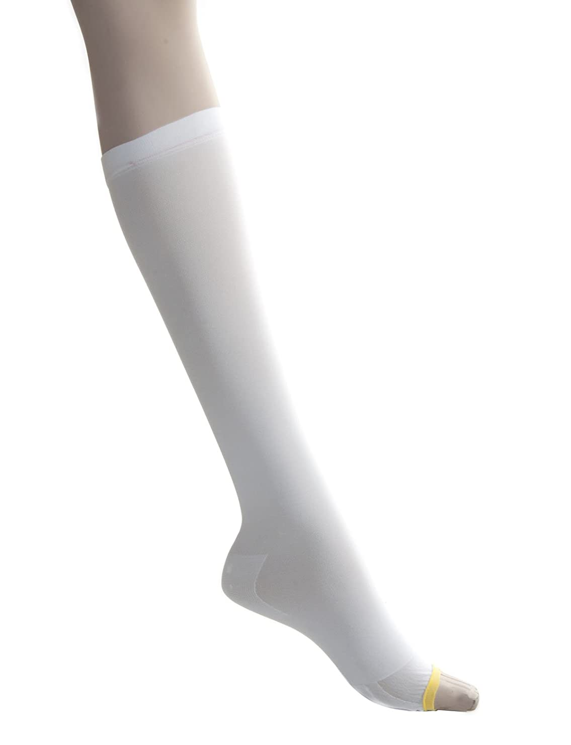 接触メイン最終的にMedline MDS160648 EMS Latex Free Knee-Length Anti-Embolism Stocking, Medium Long, White (Pack of 12) by Medline