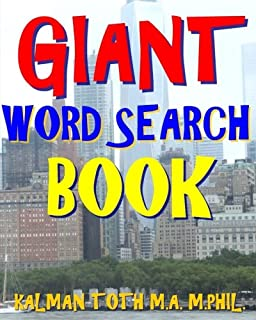 Giant Word Search Book: 300 Extra Hard Entertaining Themed Puzzles