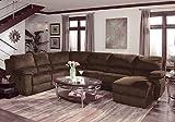 Home Line Contemporary Design Reclining Sectional U707