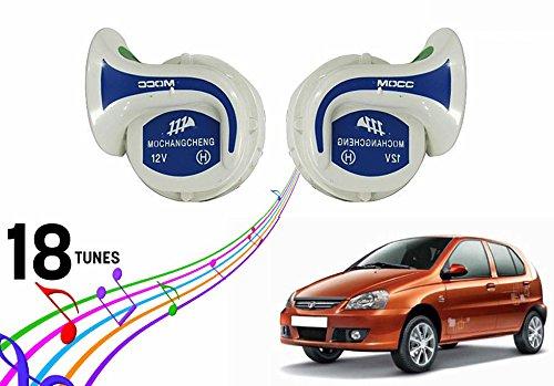 Vocado Mocc 18 in 1 Digital Tones Car Magic Horn Set of 2-Tata Indica Vista