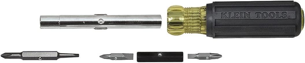 Klein Tools 32557 Multi-Bit Screwdriver/Nut Driver, Heavy Duty