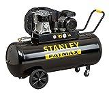 Compresor de aceite transmisión con correa monestadio 200L 3Hp Stanley B 350/10/200 profesional