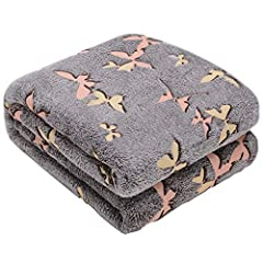 YOUR BEST GIFT CHOICE : This beautiful butterfly blanket will make the most original gift for all your loved ones and for every occasion. Perfect for men, women, girls and boys of all ages, also a wonderful gift for birthdays, Christmas, anniversarie...